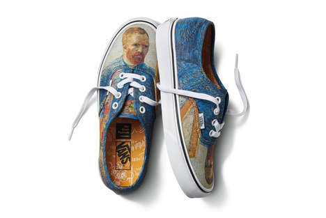 Post-Impressionist Streetwear Designs - The Vans x Van Gogh Museum Offers Stylish Illustrated Shoes