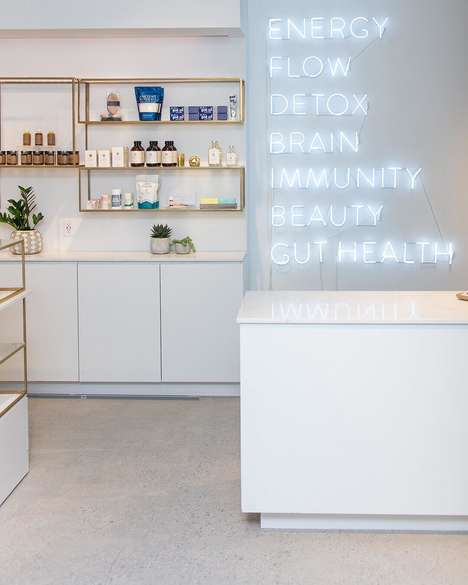 Shoppable Health Hubs - 'Clean Market' Offers a Curated Range of Health Products and Services