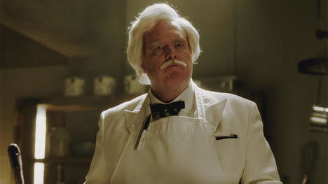 Historic Mascot Webisodes - Comedy Central's Drunk History Tells the Story of KFC's Colonel Sanders