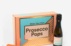 DIY Prosecco Popsicles - The 'Make Your Own Prosecco Pops' Kit is the Perfect Summer Project