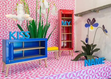 Unzipped Whimsical Furniture Lines