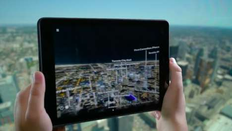 VR Viewfinder Apps - Toronto's CN Tower Viewfinder Brings the City to Life in Virtual Reality