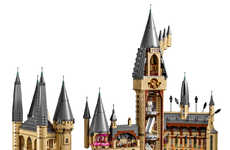 Expansive Wizarding Microscales - A LEGO Hogwarts Castle Will Be Sure to Please Harry Potter Fans