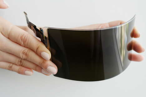 Unbreakable OLED Screens