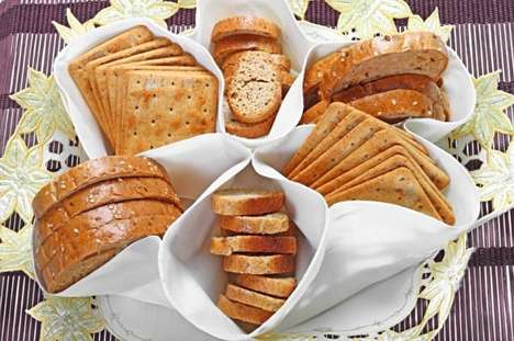 Plant Protein Bread Labels