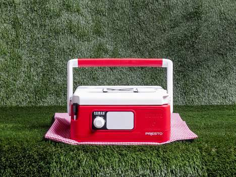 Portable Retro Slow Cookers