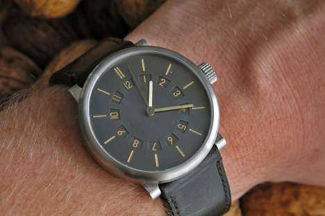 Demure Dual-Timezone Timepieces