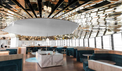 Highly Modern Airport Lounges
