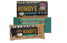 Prebiotic Clean Eating Bars - The New Rowdy Bars Offer Consumers a Tasty Way to Stay Fueled