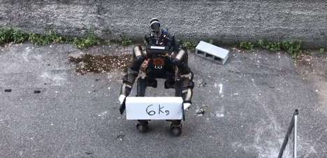 Dexterous Disaster Relief Robots - The 'Centauro' Robot Walks On Four Legs and Can Chop Wood