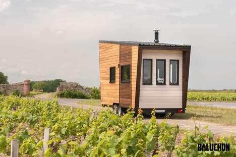Slope-Shaped Tiny Dwellings