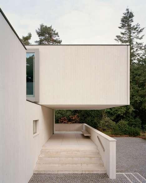 Geometric Minimalist Concrete Houses