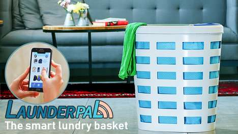 Smart Laundry Baskets