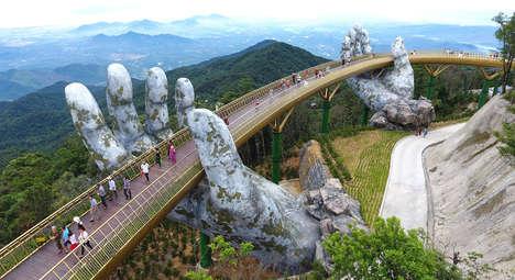 Giant Hand-Held Bridges