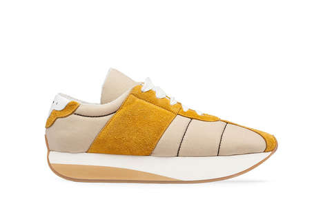80s-Inspired Fabric Sneakers