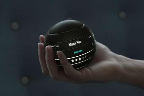 Interactive Orb Control Speakers