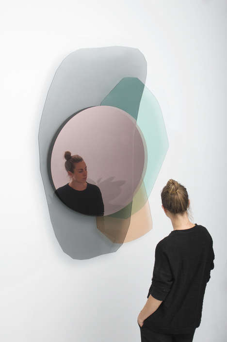 Colorful Layering Mirrors