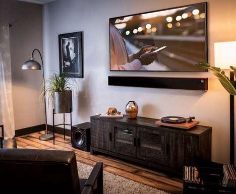 Customizable Home Sound Bars