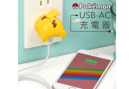 Cartoon-Themed Mobile Chargers
