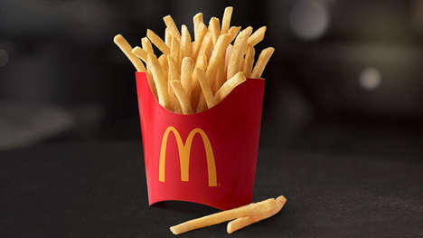Complimentary Fries App Promotions