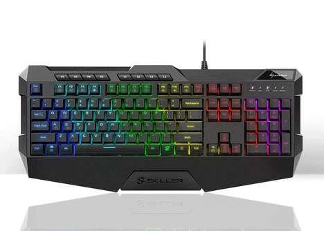 Keystroke-Crunching Gaming Keyboards