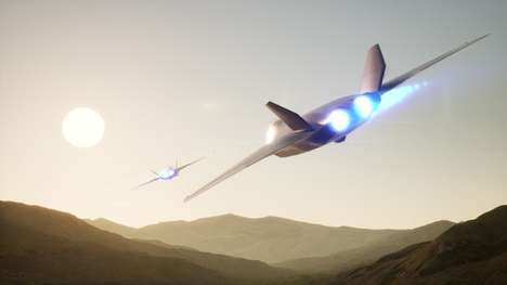 Futuristic Fighter Jet Concepts - The 'Tempest' Can Deploy Hypersonic Missiles and Armies Of Drones