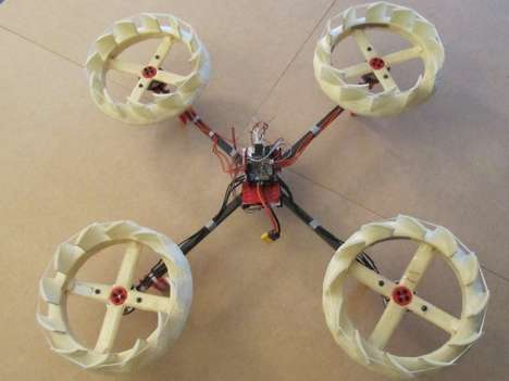 Noise-Reducing Drones - This Silent Multicopter Drone Uses Ring-Shaped Rotors For Reduced Noise