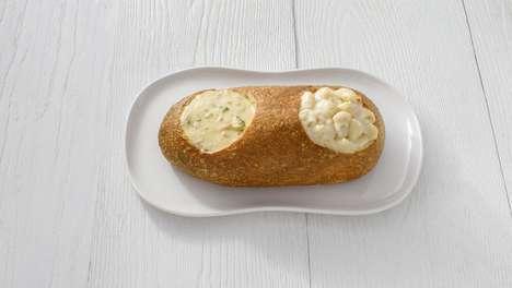 Dual Filling Bread Bowls