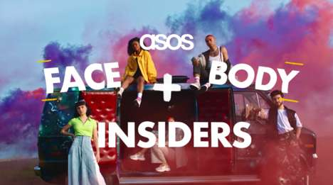 Exploratory Beauty Campaigns - The ASOS Face + Body Series Talks Identity, Gender & Beauty