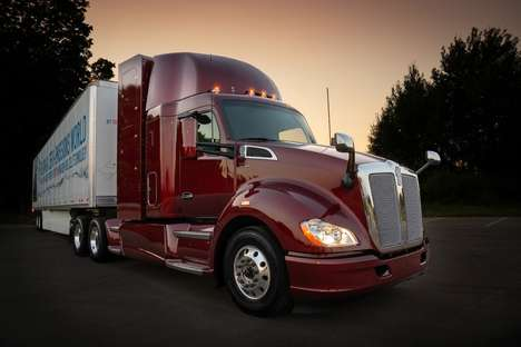 Capacious Fuel Cell Trucks