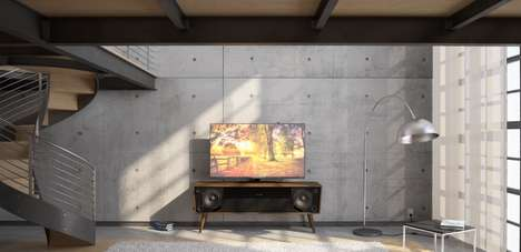 Timber TV Consoles