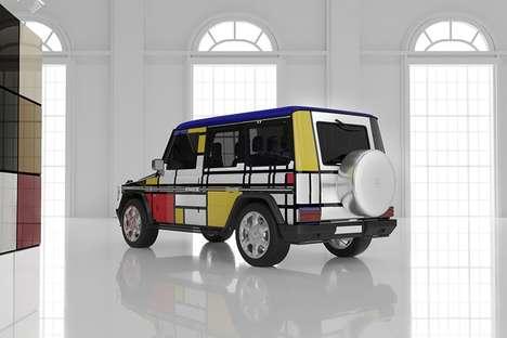 Artwork Rendered Car Concepts
