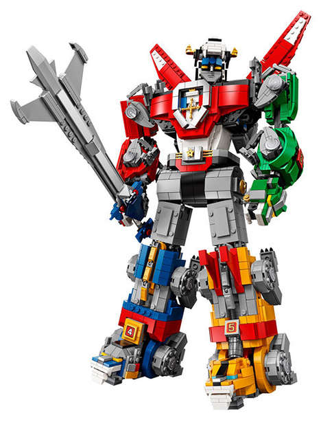 Crowd-Sourced Collectible LEGO Toys - LEGO's Voltron: Legendary Defender Set Boasts 2,321 Pieces