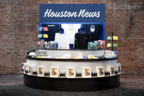 Airport-Themed Luggage Pop-Ups