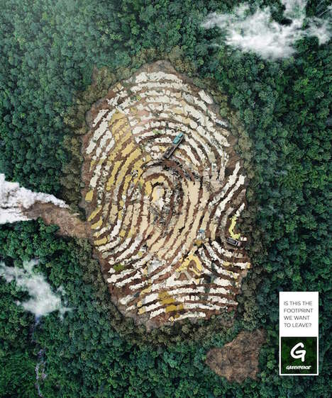 Thought-Provoking Ecology Campaigns - Greenpeace's Latest Preservation Initiative is Human-Centered