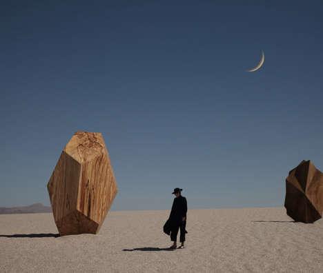 Elegant Desert Fashion Photography
