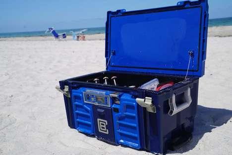 Entertaining High-Tech Coolers