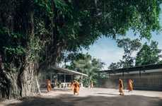 Budget-Friendly School Extensions - The Buddhanimit Temple's New Dormitory Can Accommodate 40 Monks