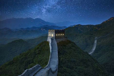 Majestic Experiential Rental Rooms - This Incredible Airbnb Room Sits Along the Great Wall of China