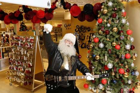 Rock-Themed Holiday Shops
