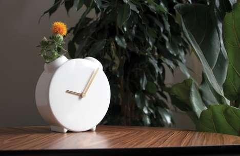 Minimalist Vase Timepieces
