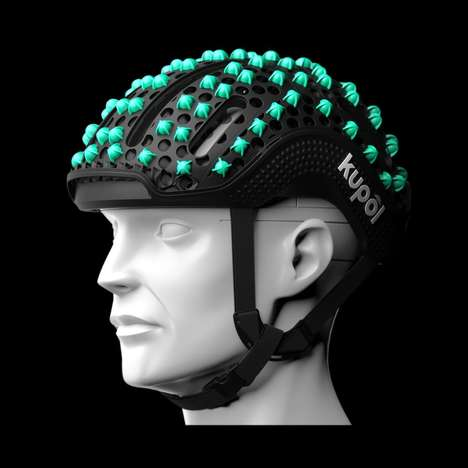 3D-Printed Bicycle Helmets