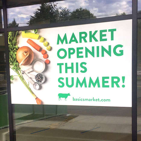 Meal-Centric Grocery Markets - The 'Basics Market' Grocery Store Concept Encourages At-Home Cooking