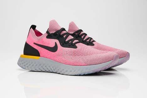 Knit Bubblegum Sneakers