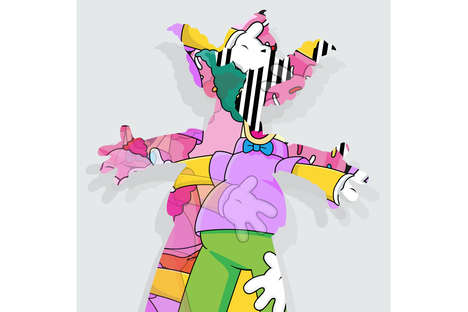 Remixed Cartoon Clown Prints
