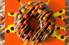 Indulgent Chocolate Bar-Inspired Doughnuts - Reese's Outrageous Doughnut is Now Available