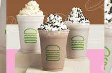 Dessert-Inspired Shake Menus - Shake Shack Introduced Its New Featured Shakes Menu