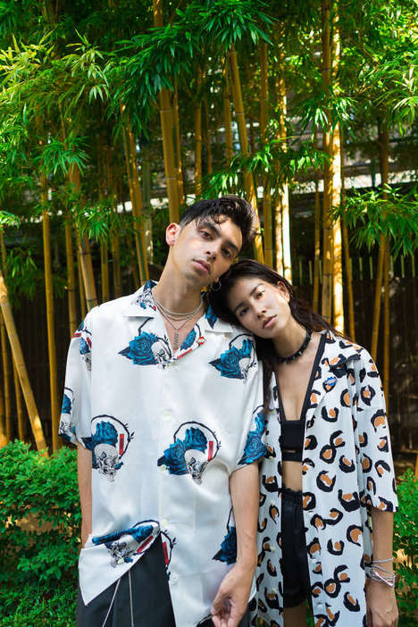 Patterned Inaugural Fashion Lines - offline's 'session 1' is Characterized by Breezy Relaxed Fashion