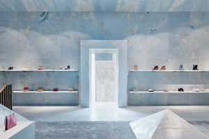 Luxuriously Serene Retail Spaces