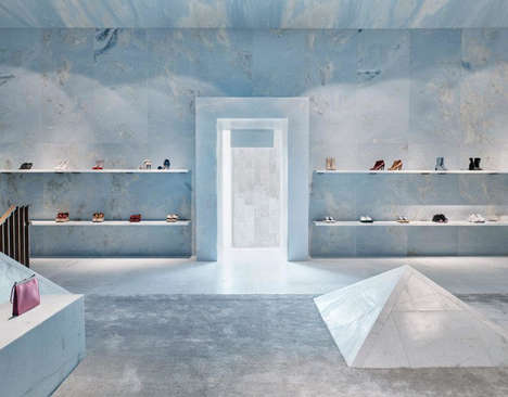 Luxuriously Serene Retail Spaces - CÉLINE's Luxe Retail Interior Will Elevate the Shopping Ritual